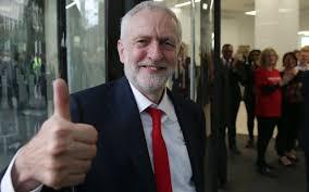 corbyn thumb